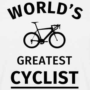 World's Greatest Cyclist T-Shirts - Men's T-Shirt