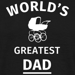 World's Greatest Dad T-shirts - Mannen T-shirt