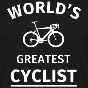 World's Greatest Cyclist T-shirts - Mannen T-shirt
