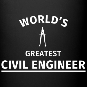 World's greatest civil engineer Mugs & Drinkware - Full Colour Mug