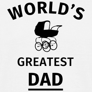World's Greatest Dad T-Shirts - Männer T-Shirt