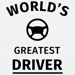 World's Greatest Driver T-Shirts - Men's T-Shirt