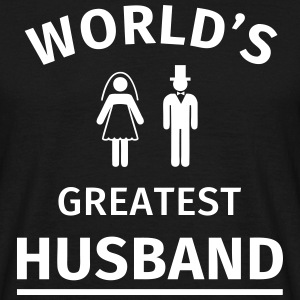 World's Greatest Husband Tee shirts - T-shirt Homme