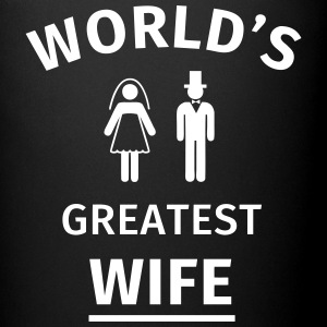 World's Greatest Wife Mugs & Drinkware - Full Colour Mug