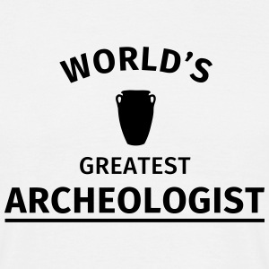 World's Greatest Archeologist T-Shirts - Men's T-Shirt