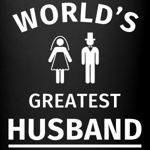 World's Greatest Husband Mugs & Drinkware - Full Colour Mug