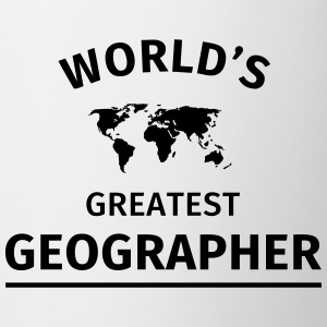 World's Greatest Geographer Tassen & Zubehör - Tasse
