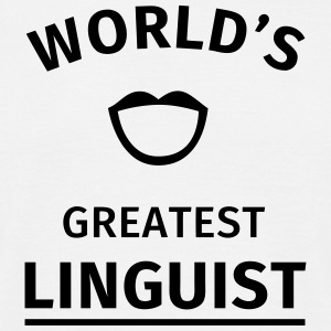 World's Greatest Linguist Tee shirts - T-shirt Homme