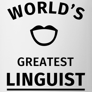 World's Greatest Linguist Mugs & Drinkware - Mug