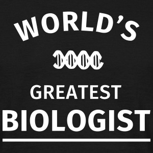 World's Greatest Biologist Tee shirts - T-shirt Homme