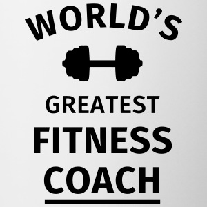 World's Greatest Fitness Coach Bouteilles et Tasses - Tasse