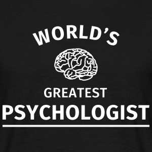 World's Greatest Psychologist T-Shirts - Männer T-Shirt