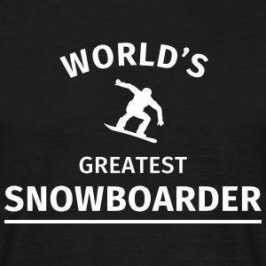 World's Greatest Snowboarder T-Shirts - Men's T-Shirt
