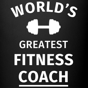 World's Greatest Fitness Coach Mugs & Drinkware - Full Colour Mug