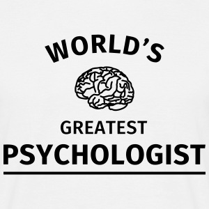 World's Greatest Psychologist Tee shirts - T-shirt Homme