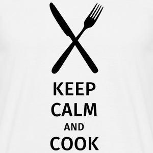 keep calm and cook T-Shirts - Men's T-Shirt
