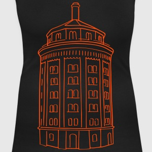Water tower at Kollwitzplatz  T-Shirts - Women's Scoop Neck T-Shirt