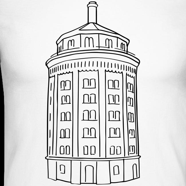 Wasserturm am Kollwitzplatz (Dicker Hermann)