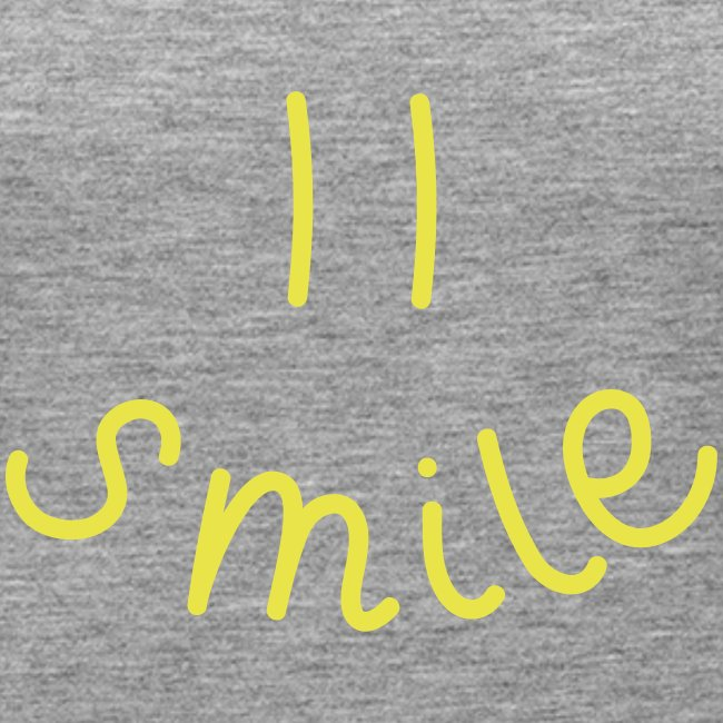 "Damen Premium Top ""Smile(y)"""