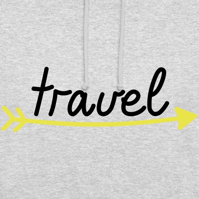 "Unisex Hoodie ""travel"""