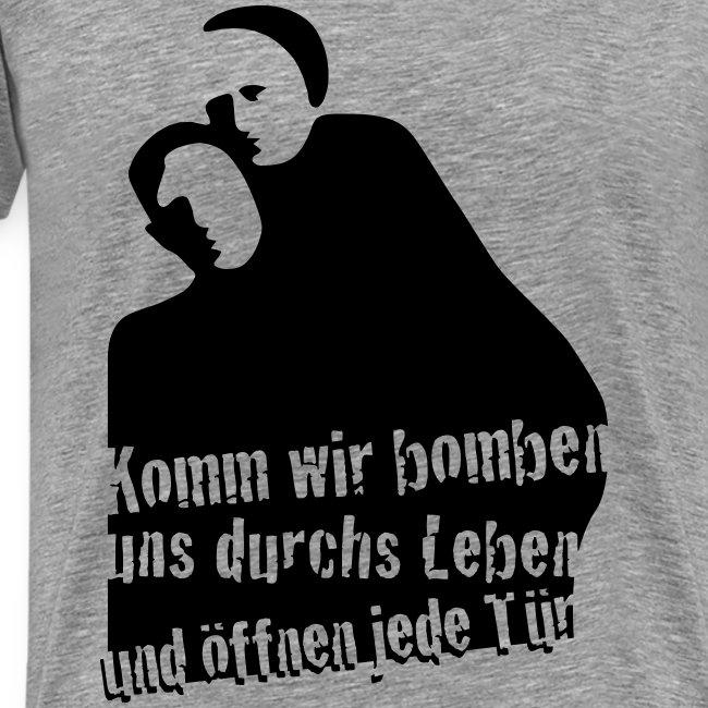 """Herren Premium T-Shirt """"Bonnie und Clyde"""""""