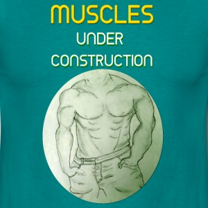 Muscles Construction gelb T-Shirts - Männer T-Shirt