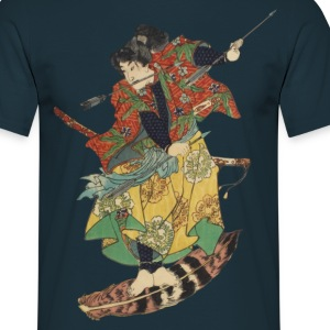 Flying Samurai T-Shirts - Männer T-Shirt