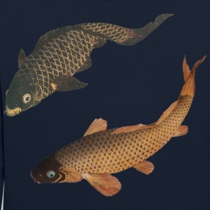 Koi japonais 2 Sweat-shirts - Sweat-shirt contraste
