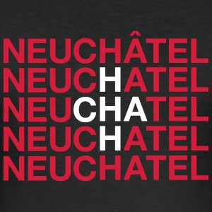 NEUCHATEL - Männer Slim Fit T-Shirt