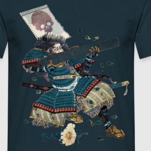 Samurai with cannon T-shirts - T-shirt herr