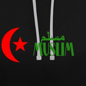 muslim Sweat-shirts - Sweat-shirt contraste