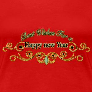 Happy new Year Silvester T-Shirts - Frauen Premium T-Shirt