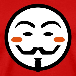 Anonymous Vendetta Mask T-Shirts - Männer Premium T-Shirt