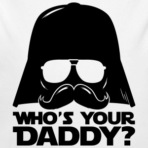 Who's your geek daddy humour citation  Bodys Bébés - Body bébé bio manches longues