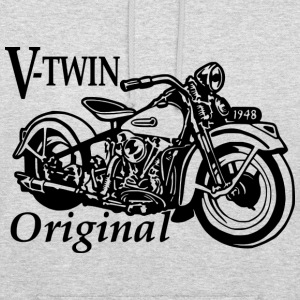 V-Twin original sweat - Sweat-shirt à capuche unisexe