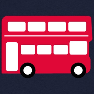 Big red bus T-Shirts - Men's V-Neck T-Shirt