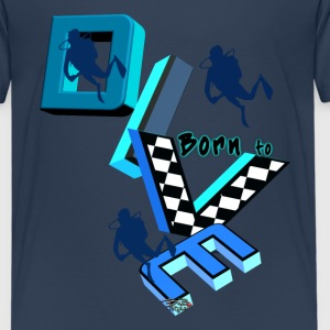 Born to dive 2016 T-Shirts - Teenager Premium T-Shirt