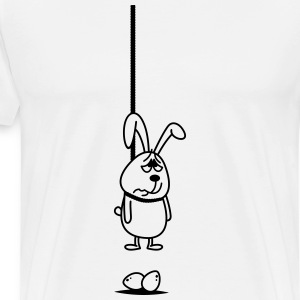 Opknoping Bunny T-shirts - Mannen Premium T-shirt