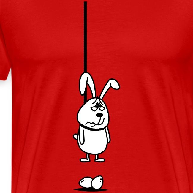 Hängender Osterhase 2c T-Shirts