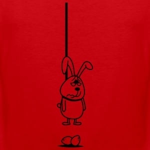 Hanging Bunny Tank Tops - Men's Premium Tank Top