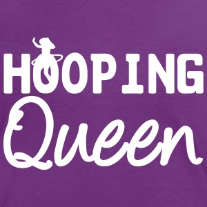 Hooping Queen (Hula Hoop) T-Shirts - Women's Ringer T-Shirt