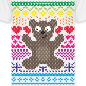 StrickDesign Teddy T-Shirts - Kinder Premium T-Shirt