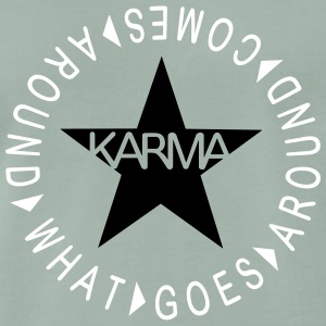 What goes around comes around T-Shirts - Männer Premium T-Shirt