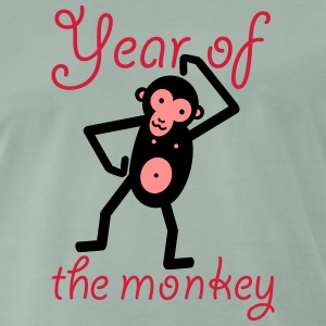 Year of the monkey - Männer Premium T-Shirt