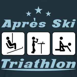 Apres Ski Triathlon c3 T-Shirts - Men's T-Shirt