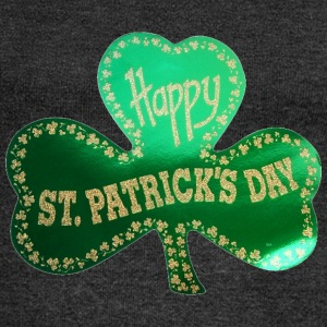 Happy St. Patrick's Day - Women's Boat Neck Long Sleeve Top