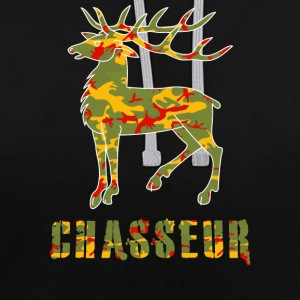 chasse camo Sweat-shirts - Sweat-shirt contraste