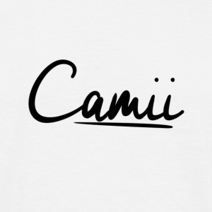 Sick Signature of our Co-Founder Camii - Men's T-Shirt