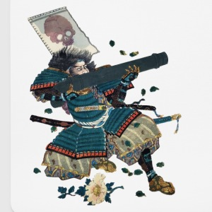 Samurai with cannon Other - Mouse Pad (horizontal)