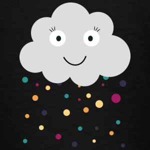 wolk met confetti Shirts - Teenager T-shirt